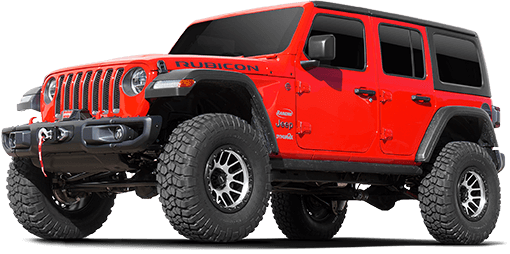 2018 Jeep Wrangler JL Unlimited Rubicon 4WD - 3.5-in. Crawler Short Arm Suspension System