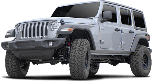 2020 - 2018 Jeep Wrangler JL Unlimited NON-Rubicon 4WD - 3.5-in. Sport Suspension System w/RS5000X Shocks