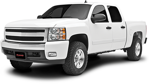 2015 - 2014 Chevy Silverado / GMC Sierra 1500 - 2-in. LEVEL IT System w/ RS7000MT Front Shocks - RS66304R7