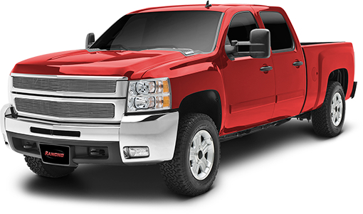 2010 - 2001 Chevy Silverado / GMC Sierra 2500HD / 3500HD 2/4WD - 2.25-in. LEVEL IT Torsion Key System w/RS5000 Front Shocks - Red - RS66350R5