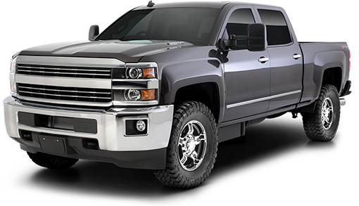2018 - 2011 Chevy Silverado / GMC Sierra 2500HD / 3500HD 2/4WD - 2.25-in. LEVEL IT Torsion Key System w/RS5000 Front Shocks