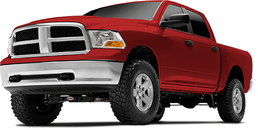 2018 - 2013 Ram 1500 4WD GAS & DIESEL - 4-in. Suspension System - RS66402B