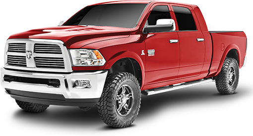 2013 - 2003 Dodge Ram 2500 / 3500 - Diesel - 2.5-in. LEVEL IT System w/ RS7000MT Front Shocks