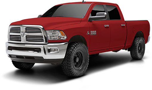 2014 Dodge Ram 2500 / 3500 - 2.5-in. LEVEL IT System w/RS9000XL Front Shocks - Black - RS66451R9