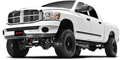 2013 - 2009 Dodge Ram 2500 4WD DIESEL - 4-in. Suspension System