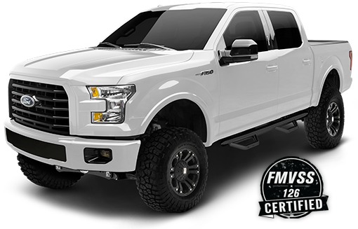 2016 - 2015 Ford F150 4WD - Black - RS66500B