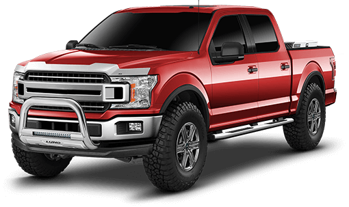 2019 - 2015 Ford F150 - 4.5-in. Suspension System
