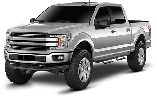 2019 - 2017 Ford F150 - 6-in. Suspension System