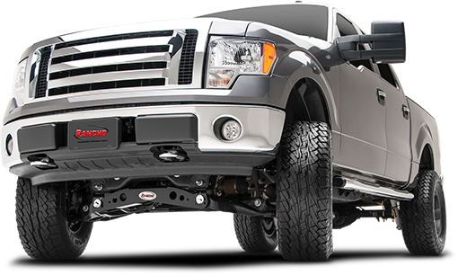 2014 - 2010 Ford F150 4WD - 6-in. Suspension System