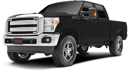 2017 - 2011 Ford F250 / F350 4WD Diesel - 2.5-in. Radius Arm Leveling System