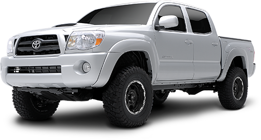 2018 - 2005 Toyota Tacoma 4WD - 2.5-in. Suspension System w/RS9000XL Shocks - Red - RS66901R9
